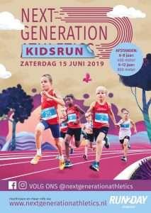 MMFysio organiseert de warming up voor de Run2Day Kidsrun tijdens de Next Generation Athletics
