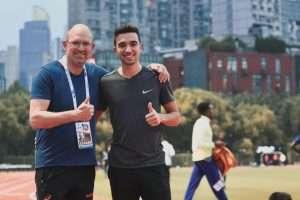 Peter en Tobias in Shanghai